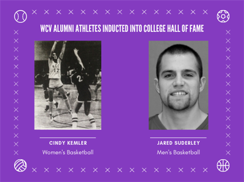 WCV Alumni Athletes Inducted into College Hall of Fame